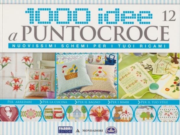 Riviste 1000 idee punto croce lamagiadelpuntocroce for Idee punto croce neonati